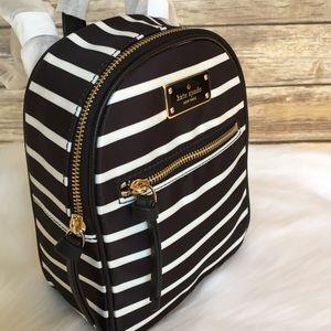 da64ff1d07c9 kate spade Bags - Kate spade mini Bradley Wilson stripe backpack bag